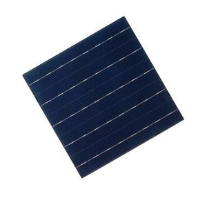 Image 2 - ALLMEJORES 0.5V 4.45W polikrystaliczne ogniwo słoneczne dla majsterkowiczów 12V panel słoneczny 25 sztuk/partia + wystarczająco dużo drutu z zakładkami i drutu szynowego