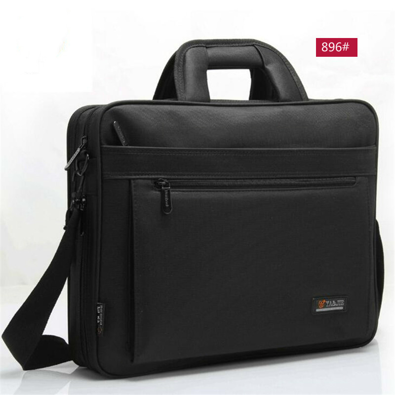 OYIXINGER 2019 New Men Briefcase Laptop Bag 15.6 Inch Women Handbags Messenger Mens Nylon Cloth Waterproof Shoulder Notebook Bag
