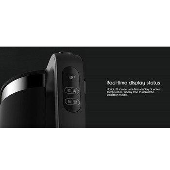 XIAOMI VIOMI Pro Elektrikli Su Isıtıcısı Termostat 1.5L 1800W Sıcaklık Kontrolü Paslanmaz çelik 5 Dakika Hızlı Kaynar Su Su ısıtıcısı Uygulaması