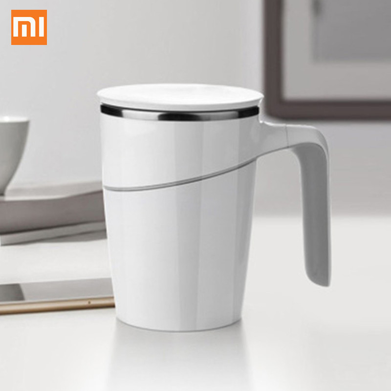 Xiaomi 470ml Double Walled Anti-Slip Spill-free Stainless Steel Mug with Suction Base Work on All Flat ABS Double Insulation Xiaomi 470ml Double Walled Anti-Slip Spill-free Stainless Steel Mug with Suction Base Work on All Flat ABS Double Insulation