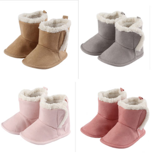 80553b96e72 US $3.72 20% OFF|Aliexpress.com : Buy Warm Winter Toddler Baby Shoes Boot  Winter Walking Infant Kids Newborn Soft Sole Baby Girls 0 18M from Reliable  ...