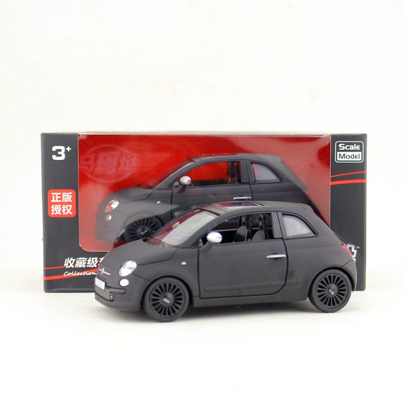 RMZ City 1:36 Scale Diecast Toy Model/Fiat 500 SUV Classical Sport/Pull Back Car For Children's Gift/Collection/Educational/Box