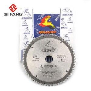 Image 2 - SI FANG hoja de sierra Circular de alta calidad, 60 100 dientes, aleación de carburo de 4 12 pulgadas, herramienta rotativa utilizada para cortar madera y Metal de aluminio