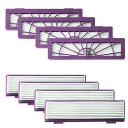 8-пакет высокого производительные Фильтры Аксессуары для всех Neato Botvac робототехники 70e 75 80 85 & D серии D75 D80 D85 и подключен D3 D