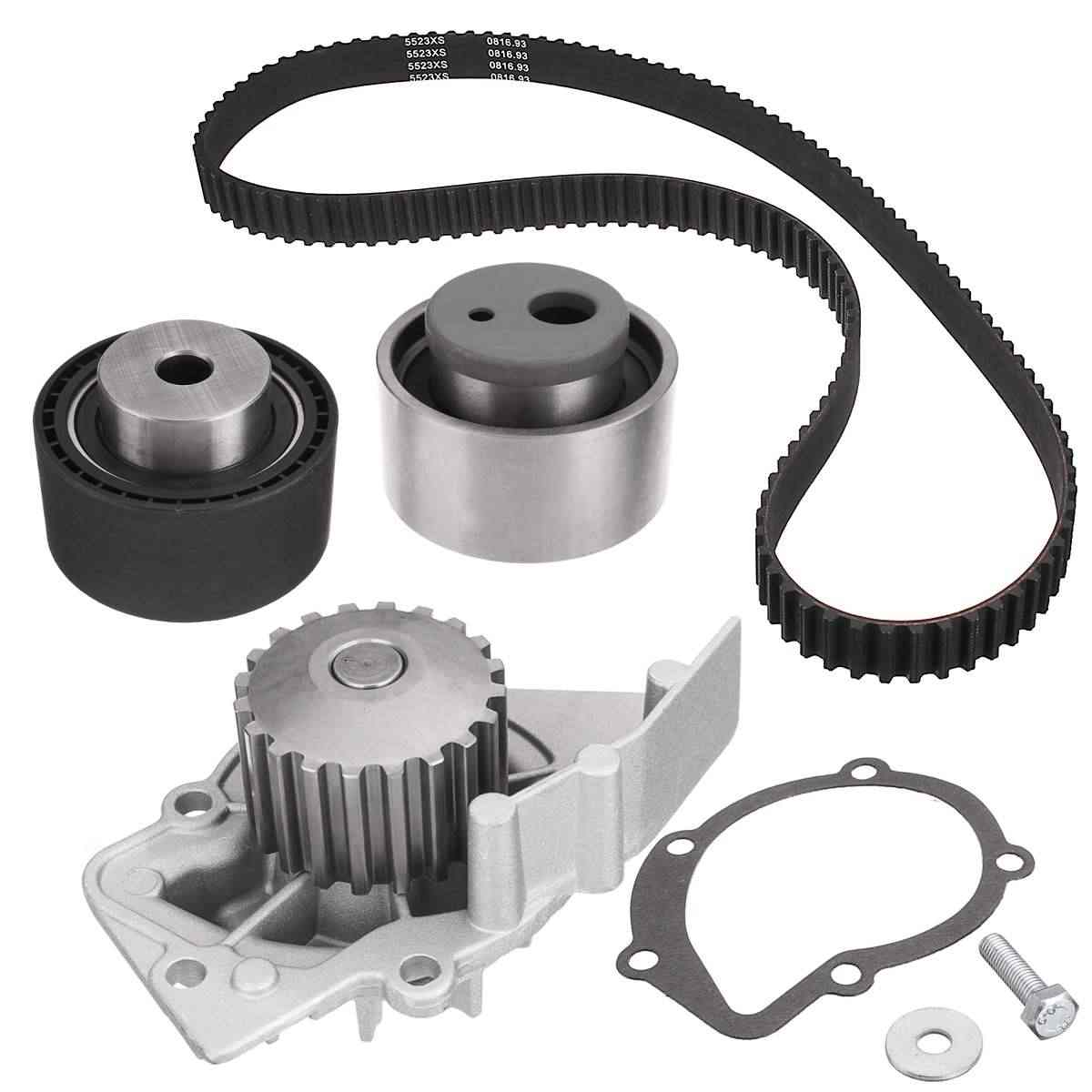 timing belt water pump kit for citroen berlingo c15 dispatch xsara for  peugeot 206 306 expert