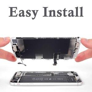 Image 5 - AAA Vollen Satz Für iPhone 7 8 Plus 7P 8 P LCD Display Touchscreen Digitizer Montage Ersatz Komplette 100% getestet Frontkamera