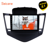 Seicane 2din Android 8.1 9 Inch GPS Navi Multimedia Player For Chevrolet Cruze 2013 2014 2015 Car Radio with WIFI USB Bluetooth