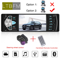 LTBFM 4.1 Autoradio 4022D 1 Din Car Radio Bluetooth Auto Radio Audio Stereo MP5 Car Player USB AUX FM With Remote Control