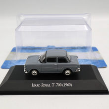 IXO Altaya 1:43 Isard Royal T-700 1960 Diecast Models Limited Edition Toys Car Collection(China)