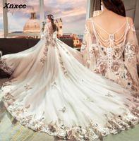 Роскошные xnxee платья Abiye Арабский мусульманский бисером торжественные платья для выпускного Abendkleider длинное вечернее платье 2018 xnxee