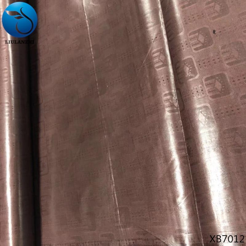 LIULANZHI Bazin Riche Getzner 10 Yards Quality Guinea Brocade Garment Fabric bazin fabrics African Jacquard fabric
