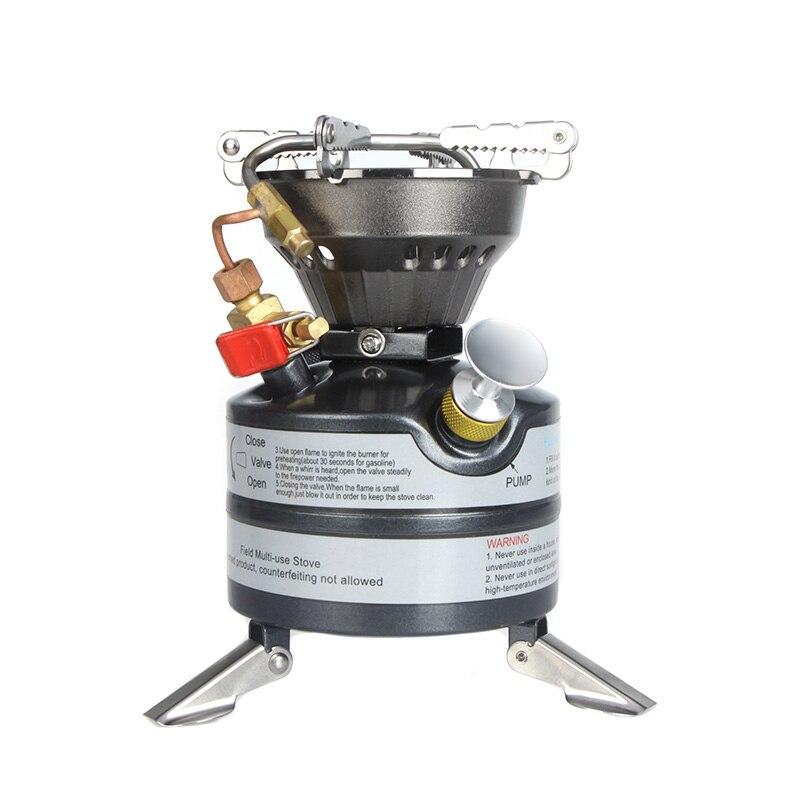 BRS nouveau Portable extérieur une pièce poêle brûleurs cuisinière à gaz cuisinière Mini carburant Camping essence poêles pour Camping en plein air pique-nique