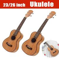 23 26 Inch 4 Strings Mahogany Ukulele Rosewood Fretboard Bridge Guitar Music Instrument For Guitar Music Lovers Gift