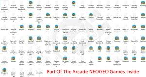 Image 3 - Retro Arcade video game console 8 GB geheugenkaart met 1500 gratis games ondersteuning TV Out Draagbare Gaming Console voor ps1 voor neogeo