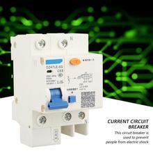 DZ47LE-63 1P+N C63 RCCB Residual Current Circuit Breaker 230V 63A 30mA High Quality dz47 63 3pole 63a rccb residual current circuit breaker 220 380v overload protection current circuit breaker new arrival