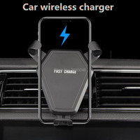 Qi Car Wireless Charger Phone Holder for subaru impreza skoda octavia 2014 dacia duster subaru tribeca forester citroen c5 bmw