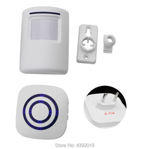 Image 5 - Motion Sensor Alarm, Wireless Alarm Systems Security Home Kits, Segurida Motion Sensor Detect Alert 2 Sensor and 1 Receiver