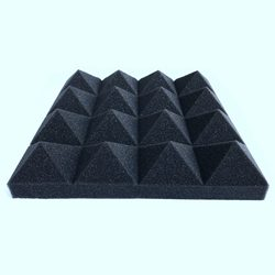 Прямая доставка 12 шт звукоизоляция пена звукопоглощение Пирамида студия лечение стеновые панели 25*25*5 см акустическая пена