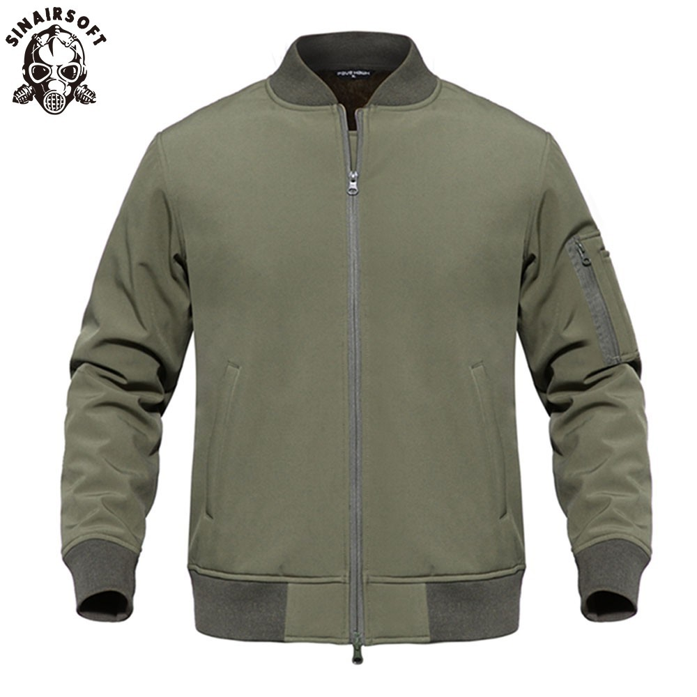 Enthousiast Nieuwe Outdoor Jacht Sport Waterdicht Soft Shell Tactical Jacket Army Swat Militaire Training Winddicht Bovenkleding Jas Jaket Mannen Grondstoffen Zijn Zonder Beperking Beschikbaar