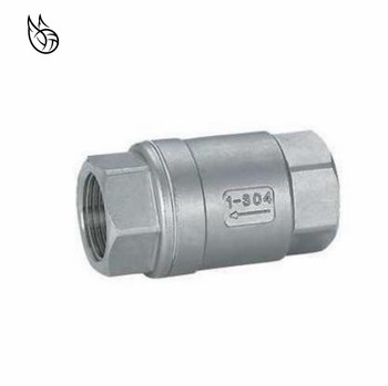 304 stainless steel 1/8 1/4 3/8 1/2 3/4 1 female thread wire mouth vertical check valve non-return valve 1 3 8 plunger check valve avoid direct contact between the torch flame and the valve body in any case replace superior valves