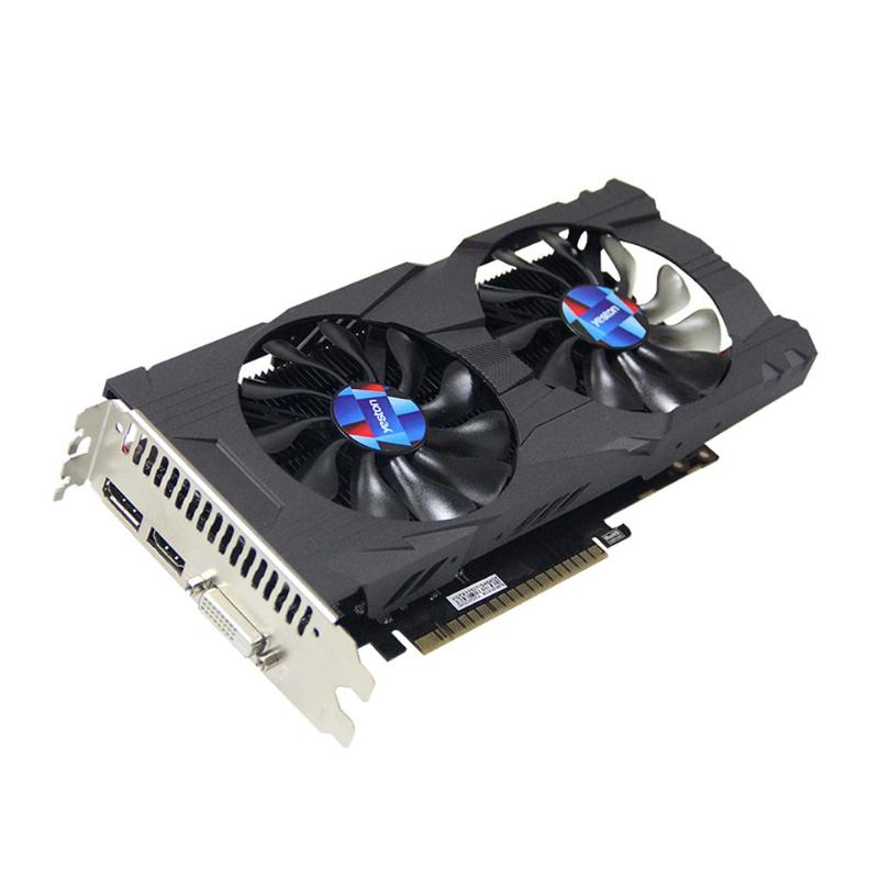Yeston GTX1050Ti 4G GDDR5 Graphics Card 1392MHz 128bit Desktop PC Gaming Video Card For <font><b>NVIDIA</b></font> Pascal MFAA DSR Gaming VXGI 6PIN image