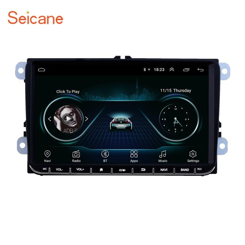 Seicane 2Din GPS 9 Araba Android 8.1 Multimedya VW/Volkswagen/Golf/Polo/Tiguan /Passat/b7/b6/KOLTUK/leon/Skoda/OctaviaSeicane 2Din GPS 9 Araba Android 8.1 Multimedya VW/Volkswagen/Golf/Polo/Tiguan /Passat/b7/b6/KOLTUK/leon/Skoda/Octavia