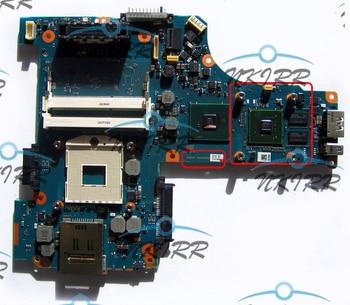 100% trabajo FGWSY1 A5A002857010A G2857A P000535080 P000532280 NVS 2100M S989 DDR3 QM57 placa base para Toshiba TECRA M11