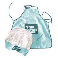 Детские повара шляпа фартук приготовления пищи выпечки мальчик девочка повара подарок