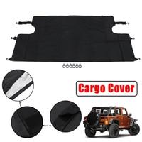 Car Trunk Cargo Cover Rear Luggage Shade Protector For Jeep for Wrangler JKU Sports Sahara 4 Doors 2007 2017