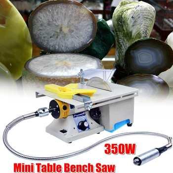 Mini serra elétrica de bancada, máquina de gravação em madeira jade, roteador de polimento para bodhi, marfim, escultura e polidor, 350w