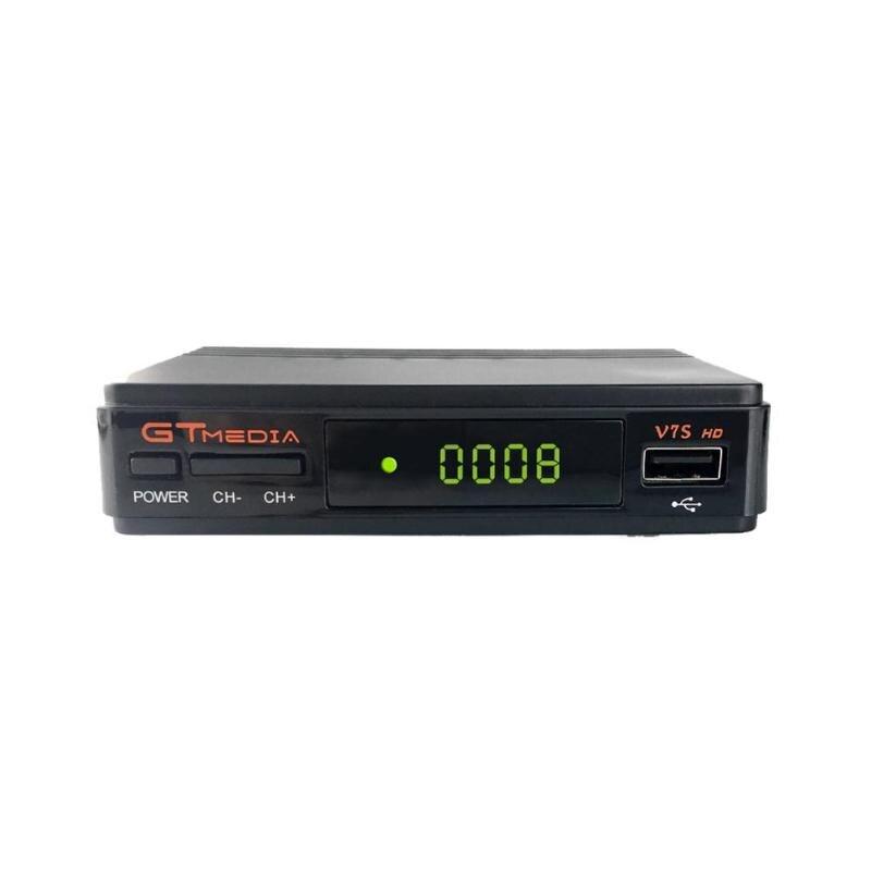 Hot Sale Satellite TV Receiver Gtmedia V7S HD 1080P With USB WIFI Support DVB-S2  Powervu DRE Biss Key Satellite Decoder