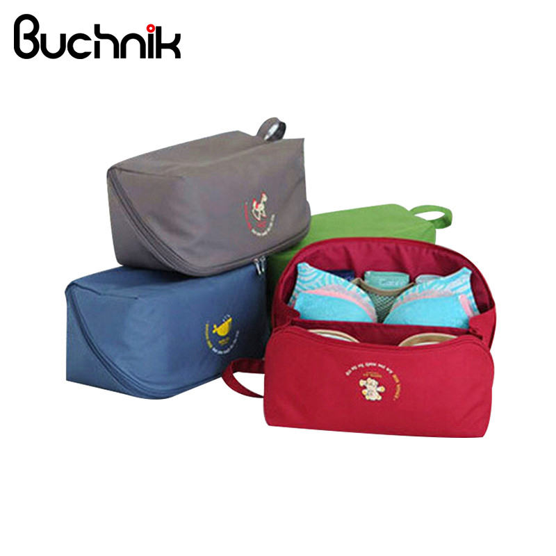 Portable Oxford Underwear Bags Travel Clothes Storage Pouch Luggage Packing Organizer Socks Case Trip Accessories Supplies
