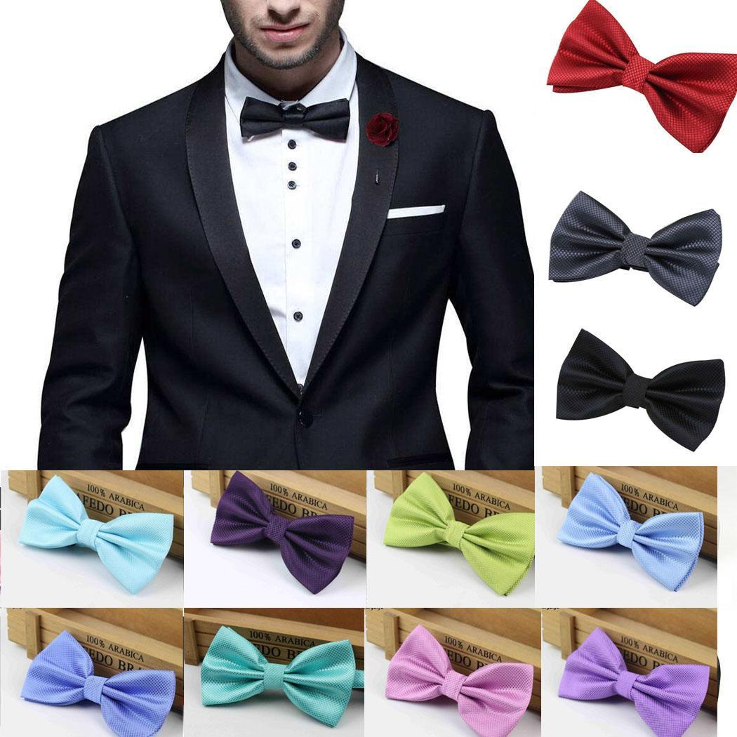 Adjustable Bow Tie Pre-Tied PIANO KEYS Classic Tuxedo Party