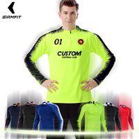 Men Soccer Tracksuit Survetement Football 2019 Soccer Jerseys Pants De Futbol Sports Kit Football Uniforms Custom Running Suits
