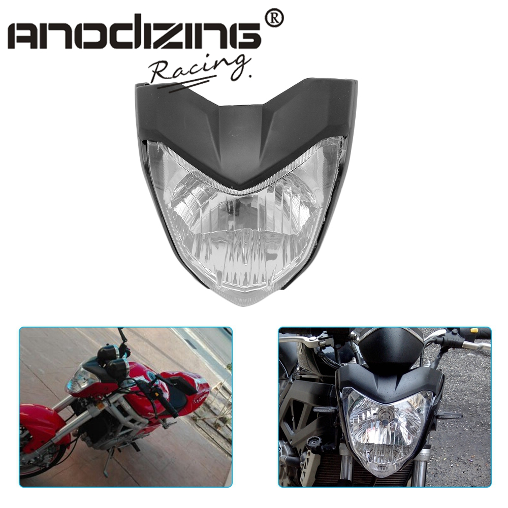 Universal Rracing Motorcycle Headlight With Bulb Bracket Headlamp For Y.M.H FZ16