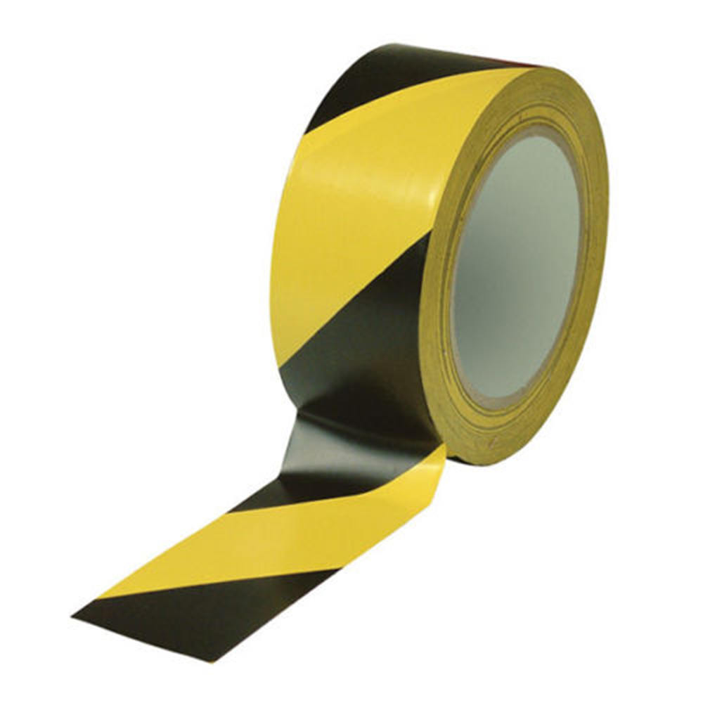 Adhesives & Sealers Hospitable 45/50/60/100mm*33m Pvc Waterproof Floor Warning Tape Zebra Tape Logo Tape 4 Color Tape For Highway Traffic Hot Sale Quality And Quantity Assured Back To Search Resultshome Improvement