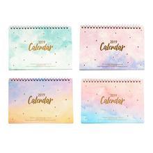 Four Seasons Series Desktop Calendar For 2019 Memorandum Of Schedule Planning Office Home Table Stationery