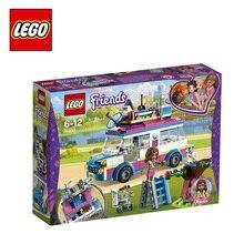 Конструктор LEGO Friends 41333 Передвижная научная лаборатория Оливии