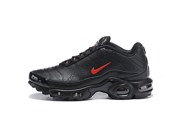 sale retailer ce399 9cf93 NIKE Air Max Plus TN Se Retro Prm Leather Material Men s Running Shoes, 815994 700 Male Trainer Track Walk Sneakers US 7-12