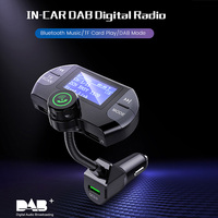 Phone Wireless Car Kit Bluetooth DAB Receiver No.G21 FM Transmitter Bluetooth Hands free Talking Dual USB Charger for iphone