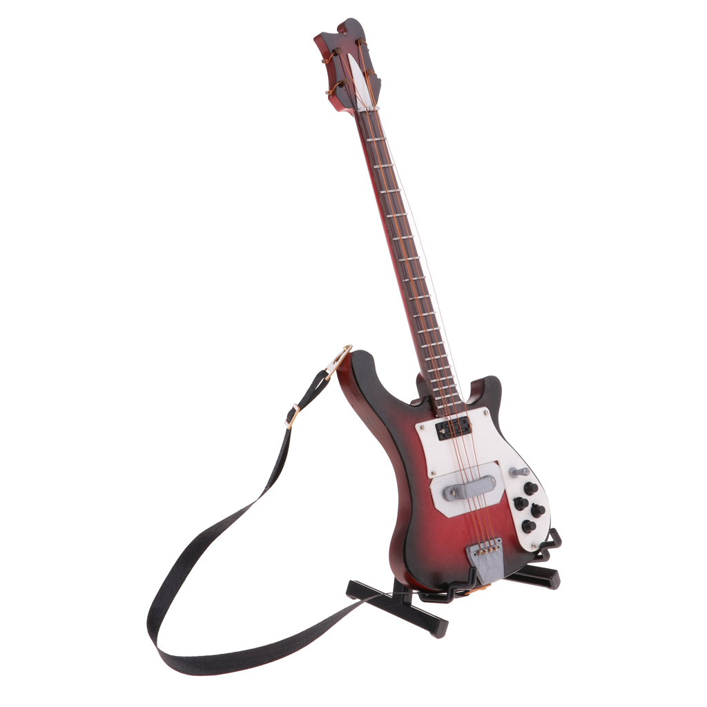 1//6 Scale Brown Electric Guitar Model Fit 12/'/' Body Action Figure Hot Toys Gift