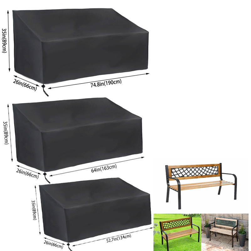 CHAISE LOUNGE PATIO CHAIR COVER OUTDOOR FURNITURE STORAGE COVER WATERPROOF