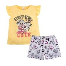 Пижама футболка+шорты для девочки 'Тату' BOSSA NOVA 383Б-161