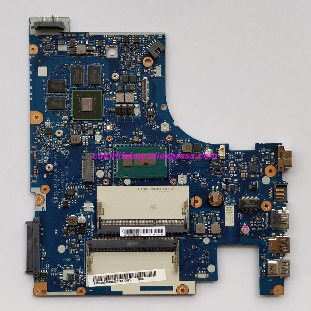 מפתחות ושלטים FRU מקורית: 5B20G45405 ACLUA / ACLUB NM-A273 w Mainboard האם מחשב נייד I5-4210U 820M / 2G עבור מחשב נייד Lenovo Z50-70 (1)