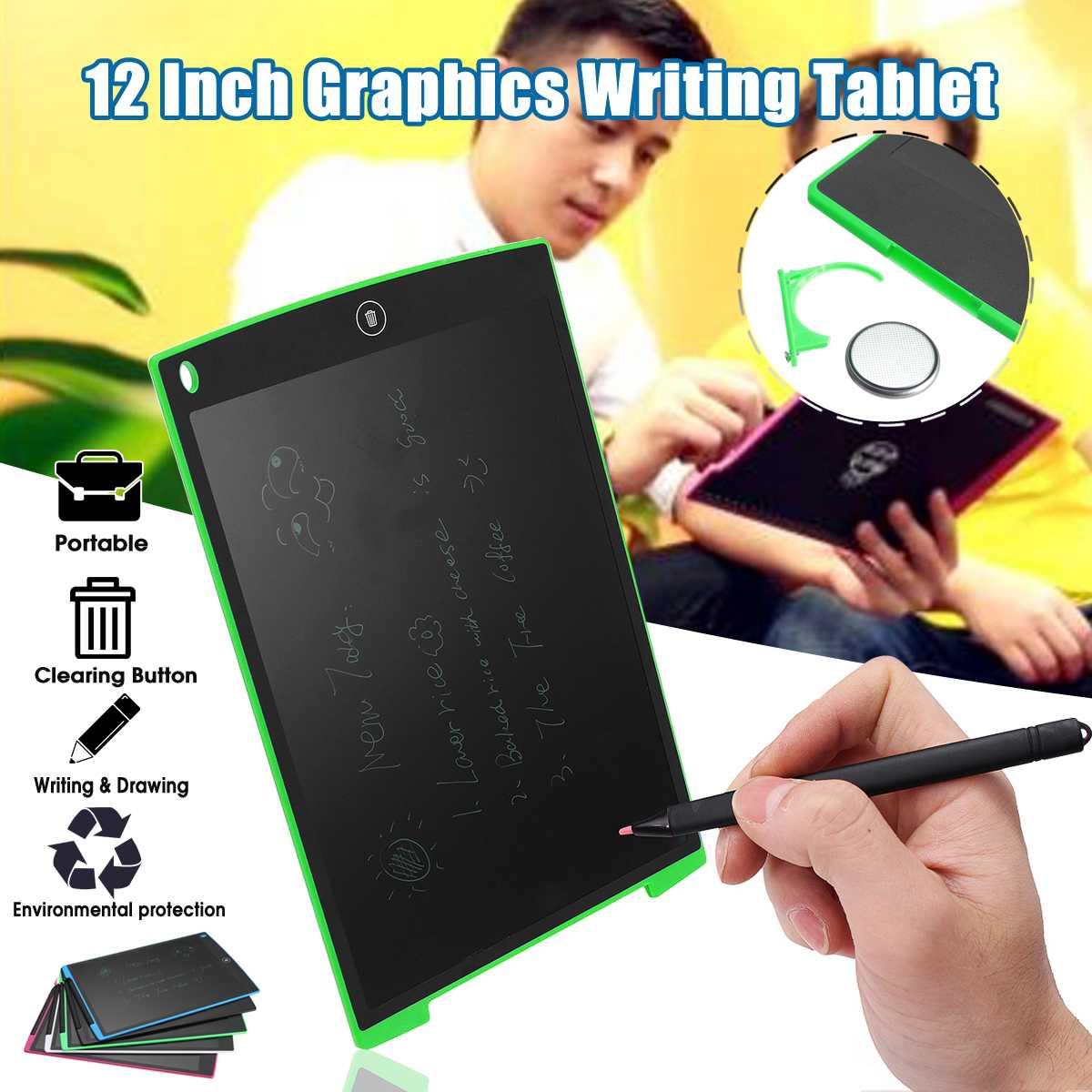 12 LCD Escrita Tablet Almofadas para Placas de Estilo Boogie Board Jot eWriter LCD Teclado de Escrita Placa de Escrita para Crianças Dos Miúdos Presentes