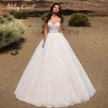 Ashley Carol A-Line Wedding Dress 2019 Court Train