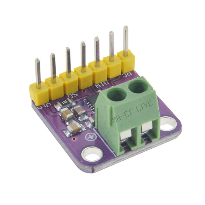 Max98357 I2S 3W Class D Amplifier Breakout Interface Dac Decoder Module Filterless Audio Board For Raspberry Pi Esp32