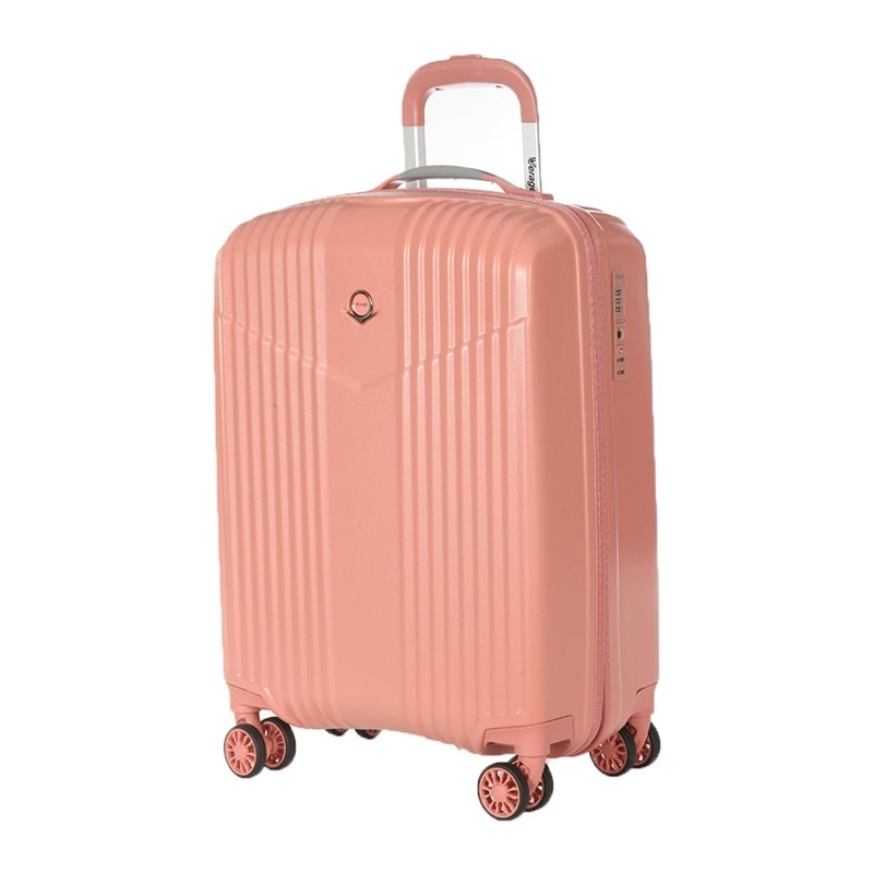 Suitcase-trolley Verage GM17072W19 coral pink