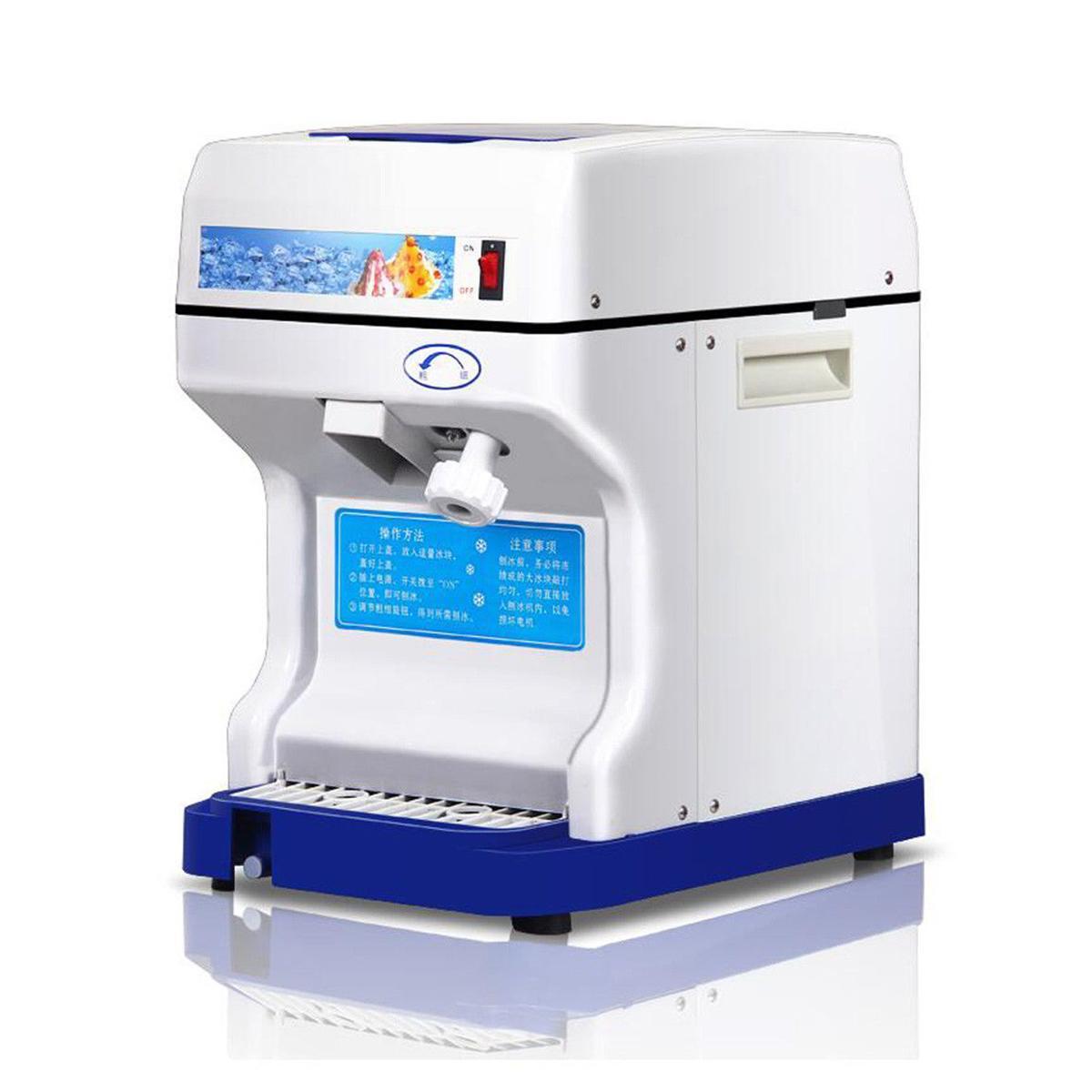 220 В в 320r/m электрический коммерческий снежный конус машина лед чайник лед бритва прибор для колки льда