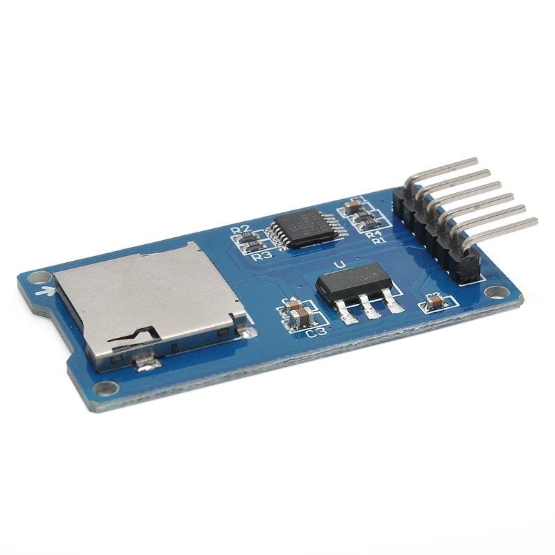 Micro SD Storage Board Mciro SD TF Card Memory Shield Expansion Module SPI For Arduino DIY